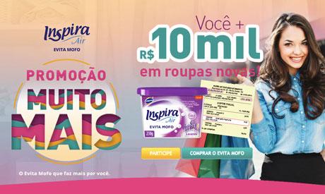 Promoção Evita Mofo Inspira Air Muito Mais