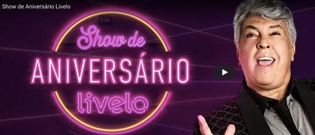 Promoção Show de Aniversário Livelo