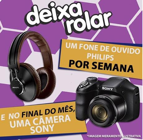 Promoção Metropolitana FM Deixa Rolar