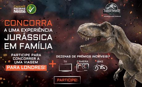 Promoção Nestlé Jurassic World Reino Ameaçado