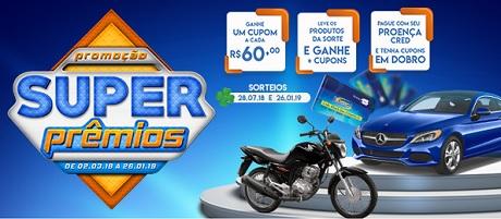 Promoção Super Prêmios Proença Supermercados