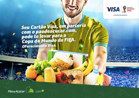 Promoção Visa e Pão de Açúcar.com Te Levam Para Rússia