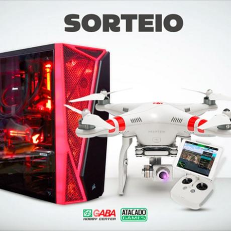Promoção Sorteio Atacado Games