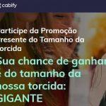 Promoção Cabify Presente do Tamanho da Torcida