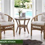 Promoção Concorra a Conjunto de Madeira Maciça e Rattan