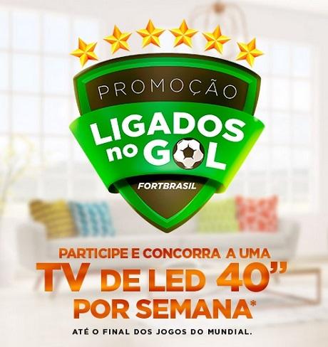 Promoção Ligados No Gol FortBrasil
