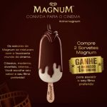 Promoção Magnum Convida Para o Cinema