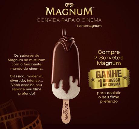 PromoçãoMagnum Convida Para o Cinema