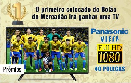 Promoção Bolão da Copa do Mundo 2018 do Mercadão Atacadista