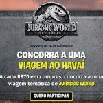 Promoção Aventura Jurassic World na PBKIDS
