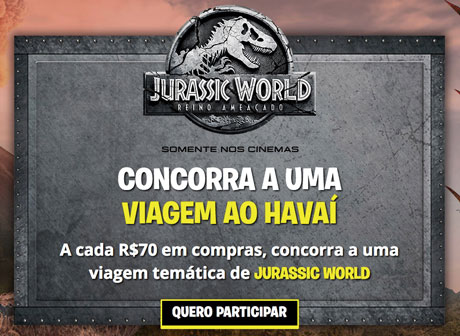 PromoçãoAventura Jurassic World na PBKIDS