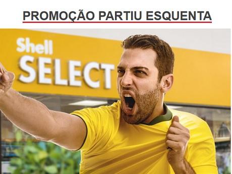 Promoção Shell Select Partiu Esquenta