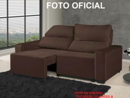 Promoção Top Room Sorteio de Sofá Retrátil e Reclinável