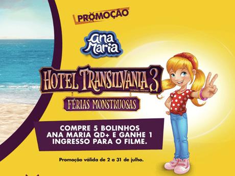 PromoçãoAna Maria Hotel Transilvânia 3