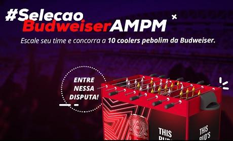 Promoção Seleção Budweiser AM/PM
