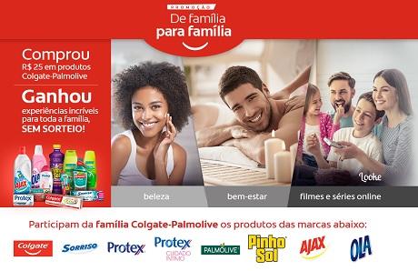 Promoção Colgate-Palmolive De Família para Família