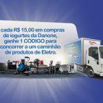Promoção Caminhões de Prêmios Danone e Condor
