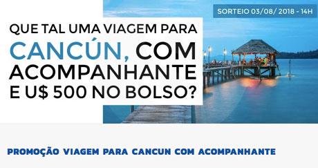 PromoçãoViagem para Cancun com Acompanhante