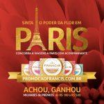 Promoção Francis Sinta O Poder da Flor em Paris