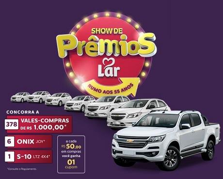 PromoçãoShow de Prêmios Lar