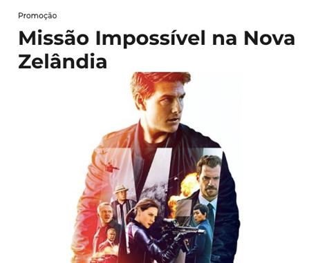 PromoçãoMix FM Missão Impossível Na Nova Zeilândia