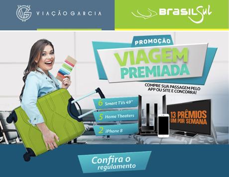 PromoçãoViação Garcia Viagem Premiada