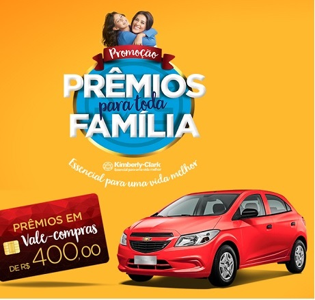 Promoção Prêmios Para Toda a Família