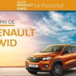 Promoção Le Postiche Seu Pai de Renault Kwid