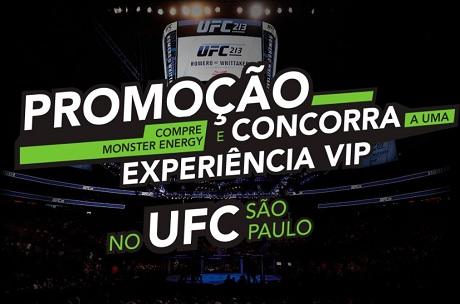 Promoção Monster Energy Concorra a uma Experiência VIP no UFC SP