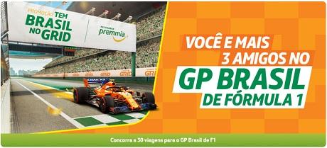 Promoção Petrobras Tem Brasil no Grid