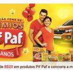 Promoção Fome de Prêmios Pif Paf 50 Anos