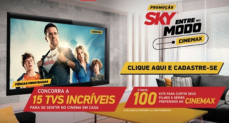 Promoção Sky Entre No Modo Cinemax