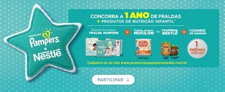 Promoção Pampers e Nestlé