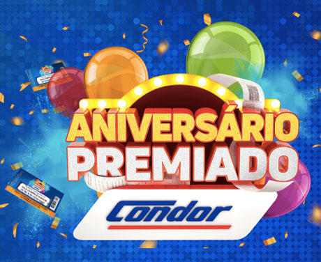 PromoçãoAniversário Premiado Condor