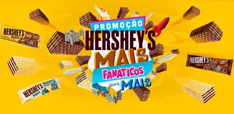 Promoção Hershey's Mais Fanáticos por Mais
