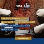 Promoção Super Bowl LIII Com Itaú Personalité e Visa