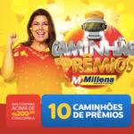Promoção Caminhão de Prêmios Millena Móveis e Eletro