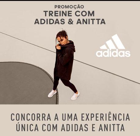 Promoção Treine com Adidas & Anitta