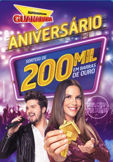 Promoção Guanabara 200 mil em Barras de Ouro