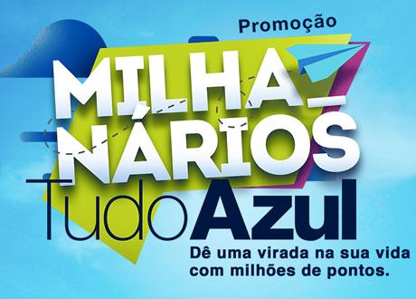 Promoção Milhanários TudoAzul