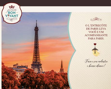 Promoção Bom Vivan L'entrecôte de Paris