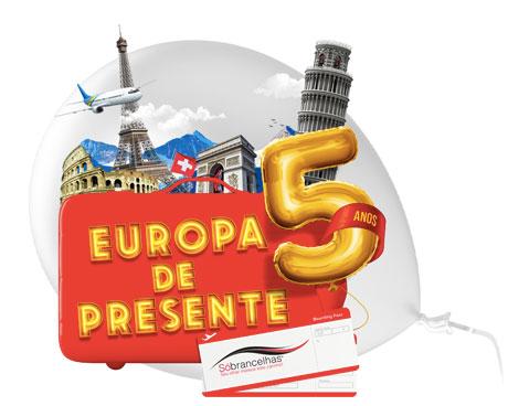 Promoção SóbrancelhasEuropa de Presente
