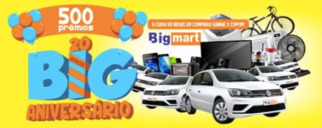 Promoção 20 anos Big Mart