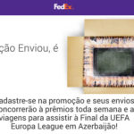 Promoção Fedex Enviou é Gol