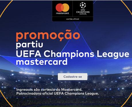 Promoção Mastercard e Mercado LivreUEFA Férias dos Campeões