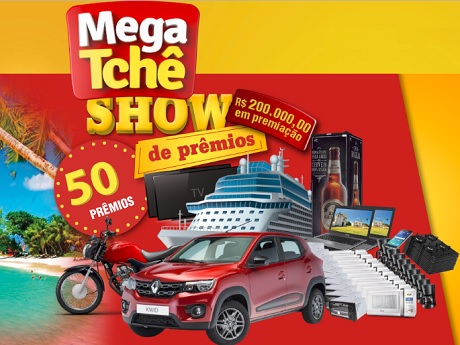 Promoção Show de Prêmios Mega Tchê