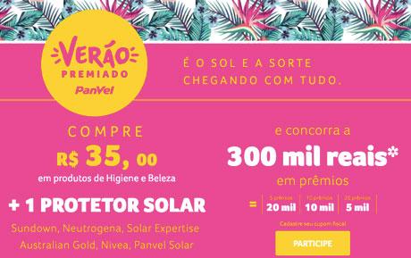 Promoção Verão Premiado Panvel