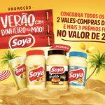 Promoção Soya e Salada Verão com Dinheiro na Mão