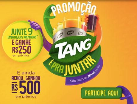 Promoção Tang É Para Juntar