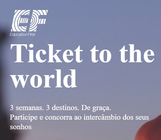 Promoção EF Education First Ticket to the World